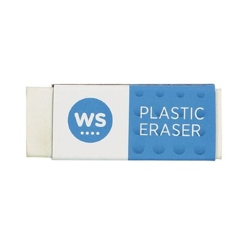WS Eraser Single Loose White