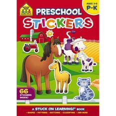School Zone: Get Ready Sticker Books Preschool