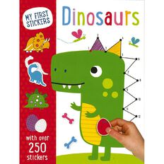 My First Sticker Dinosaurs by Make Believe Ideas