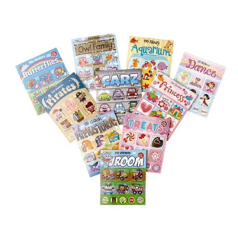 Kea Mini Sticker Book Assorted