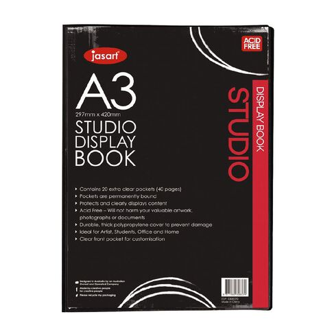 Jasart Studio Art Display Book A3