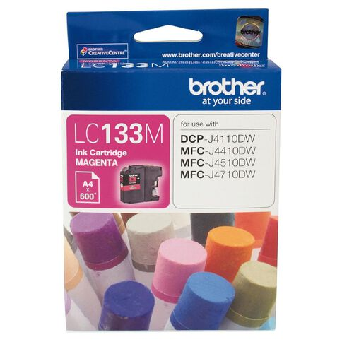 Brother Ink LC133 Magenta (600 Pages)
