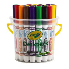 Crayola Classic Ultra-Clean Washable Markers Deskpack 32 Pack