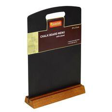 Quartet Menu Chalk Boards Black A4