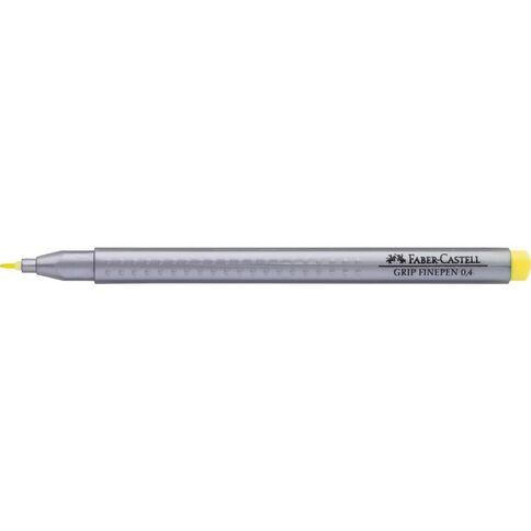 Faber-Castell Grip Finepen 0.4mm Light Chrome Yellow