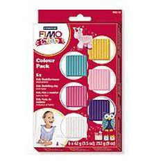 Fimo Kids' Modelling Clay Pastel Colours