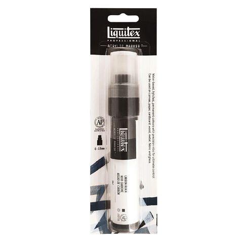 Liquitex Professional Acrylic Marker 15mm Carbon Black 0337