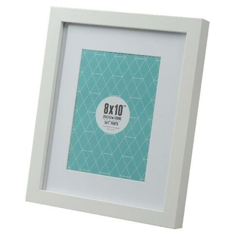 Promenade 8 x 10 Photo Frame White