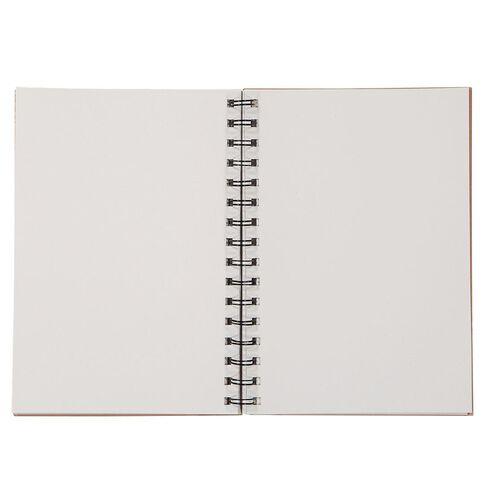 Uniti Craft Spiral Notebook Hardcover Pink A5