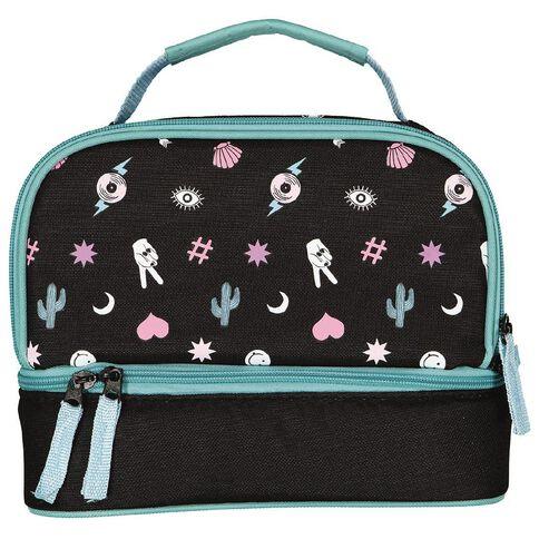 Living & Co Double Decker Lunch Bag LA Vibes