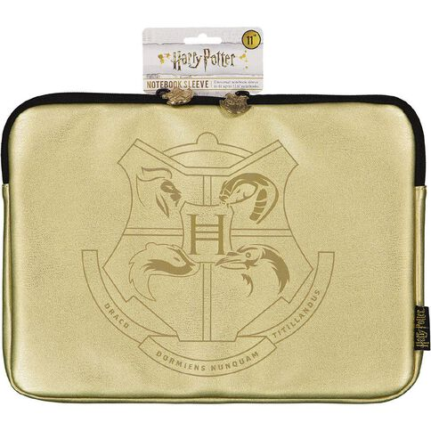 Harry Potter 11 inch Notebook Sleeve PU Gold