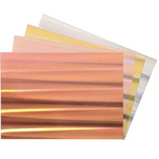 Uniti Value Cardstock Holographic 250gsm 12 Pack A4