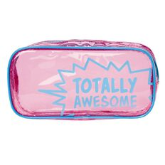 Impact Pencil Case Tube Transparent Pink