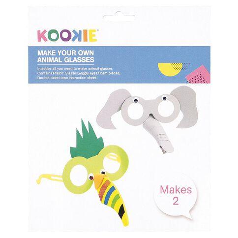 Kookie Make My Own Foam Animal Glasses 2 Pack