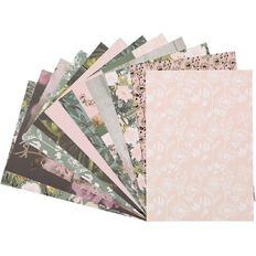 Uniti Secret Garden Paper Pad A4 12 Sheets