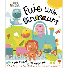 Petite Boutique Five Little Dinosaurs