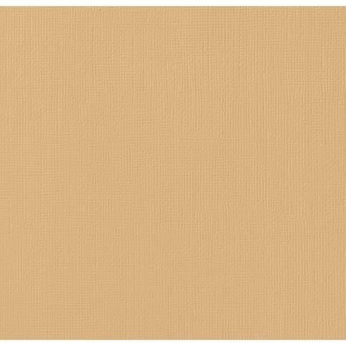 American Crafts Cardstock Textured 12 x 12 Dark Kraft Blue
