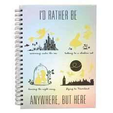 Disney Classics Back to Campus Spiral Notebook A4