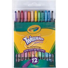 Crayola Twistable Crayons 12 Pack 12 Pack