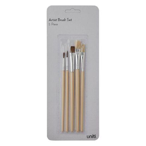 Uniti Brushes Artist Set 5 Piece