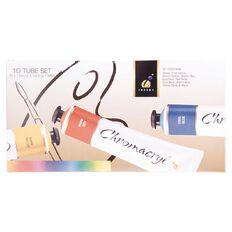 Chromacryl Students Acrylic 10 x 75ml Tube Set Multi-Coloured