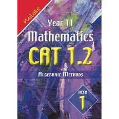 Nulake Year 11 Mathematics Cat 1.2 Algebraic