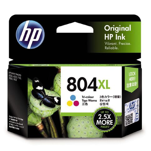 HP Ink Cartridge 804XL Tri Colour