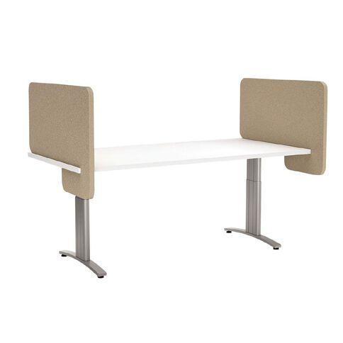 Boyd Visuals Desk Divider Dark Camel 540mm x 800mm