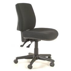 Buro Seating Roma 2 Lever Midback Chair Black Black
