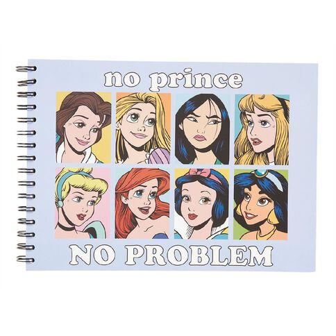 Disney Princess Sketchpad Light Blue A4