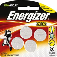 Energizer Lithium Coin Battery 2032 3V