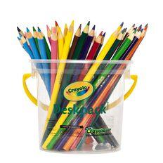 Crayola Coloured Pencils Deskpack 48 Pack