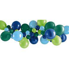 Artwrap Party Balloon Garland Blue & Green 40 Pack