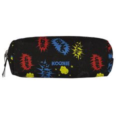 Kookie Ninja Tube Pencil Case Blue