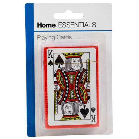 Home Essentials Playing Cards