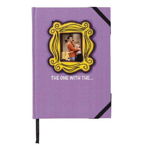 Warner Bros. Friends Photo Frame Notebook Purple A5