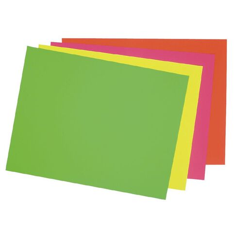 DAS Fluoro Card 230gsm 500 x 650mm Yellow