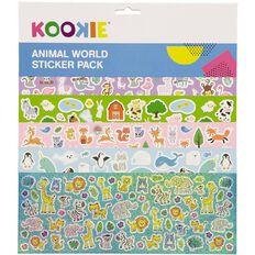 Kookie Sticker Mega Pack 5 Sheets Animal