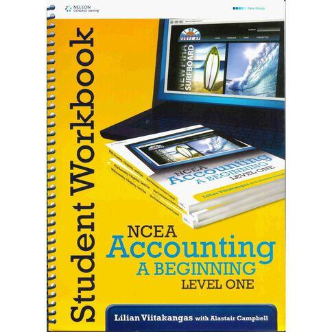 Ncea Year 11 Ncea Accounting A Beginning Workbook