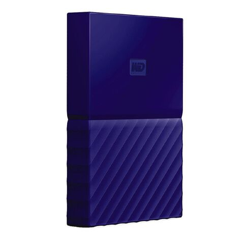 WD My Passport 1TB USB 3.0 External HDD Blue