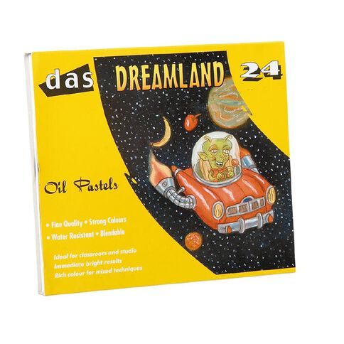 DAS Dreamland Oil Pastels 24 Pack