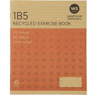 WS Recycle 1B5 Exercise Book