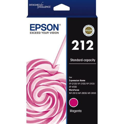 Epson Ink 212 Magenta (130 Pages)