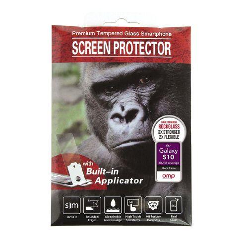 OMP Galaxy S10 Premium Full Coverage Glass Screen Protector