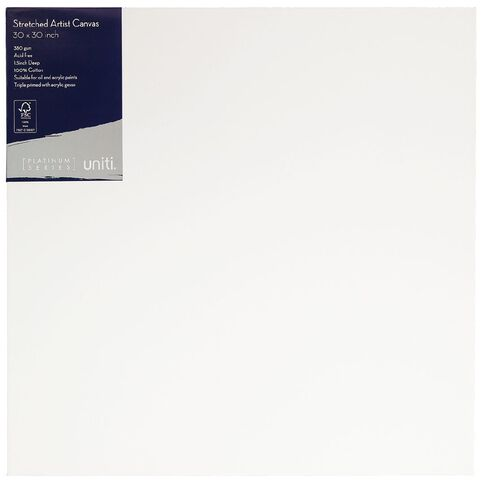 Uniti Platinum Canvas 30x30 Inches 380Gsm