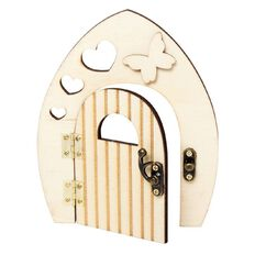 Uniti DIY Wood Fairy Door