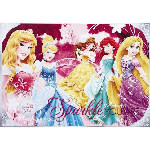Princess Scribble Pad