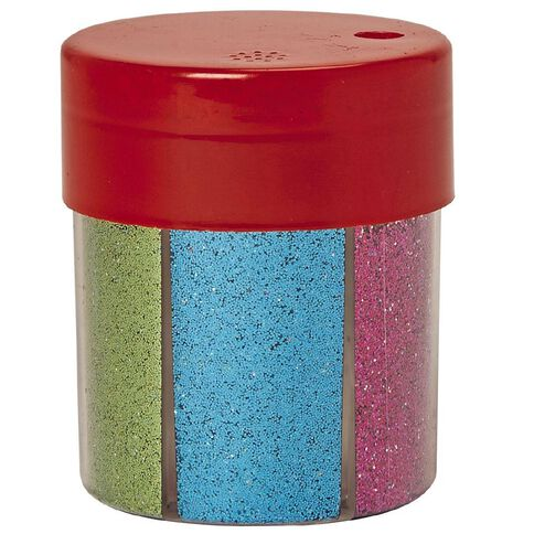 Kookie Glitter Shaker 6 Multi-Coloured 50g