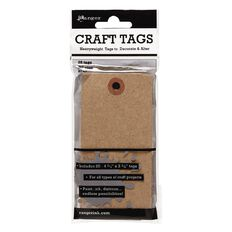 Ranger Craft Tags #5 20 Pack Kraft