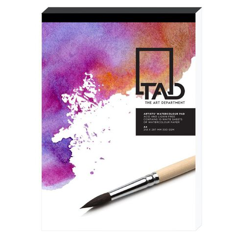 The Art Department Sketch Pad 300gsm White A3